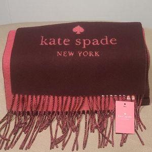Kate spade wool cashmere ablong